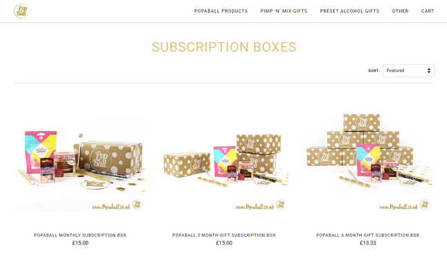 popaball subscription boxes