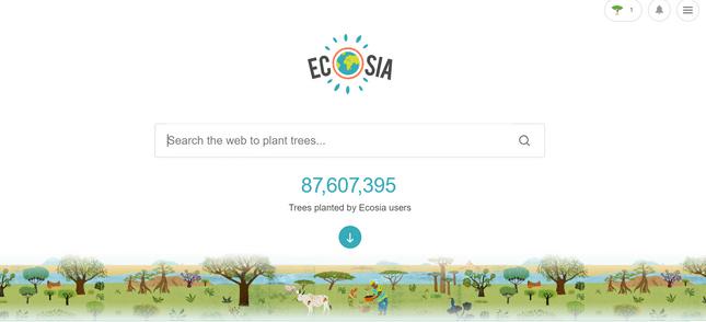 eco friendly internet tips ecosia