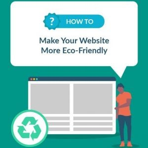 how to make your website more eco friendly