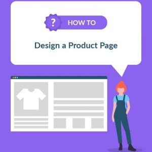 how to design a product page