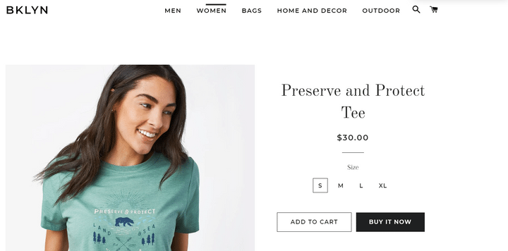 universal product template shopify example 1