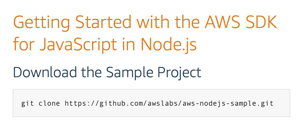 aws node js hosting