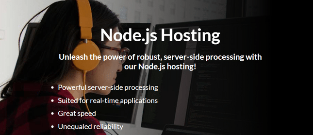 hostpapa node js homepage
