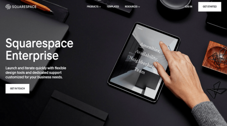 squarespace enterprise home