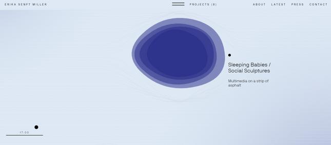 how to build online portfolio erika senft miller color example 1