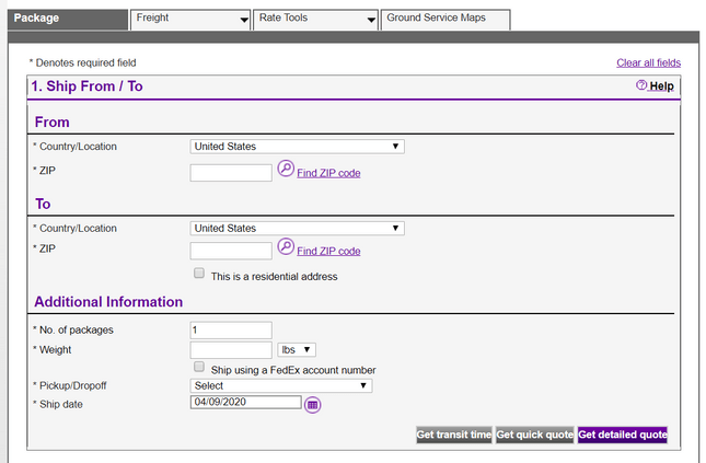 shipping products fedex shipping costs calculator