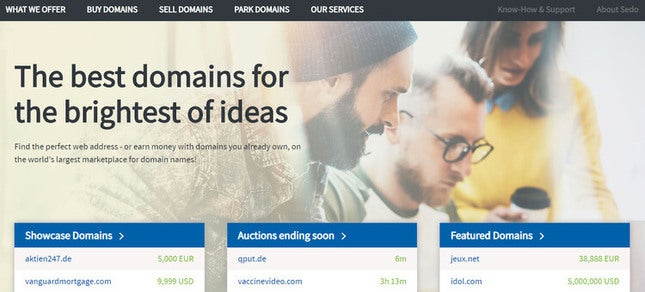 online business ideas for beginners domain auction website