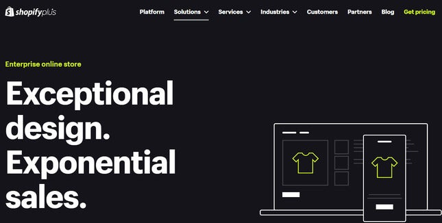 shopify plus best enterprise ecommerce platforms