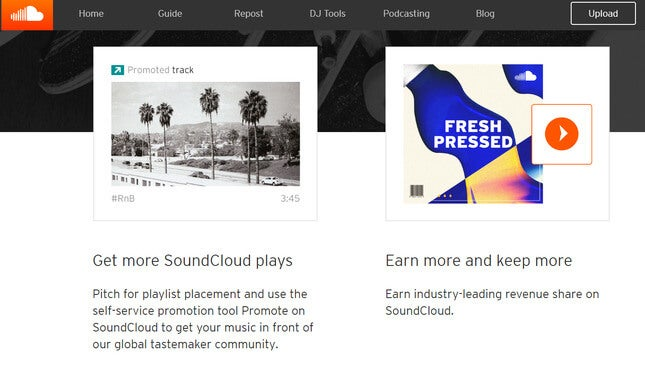 make money on social media with soundcloud