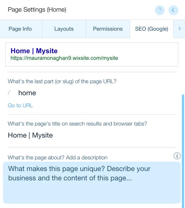 wix meta editor
