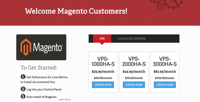 inmotion magento home