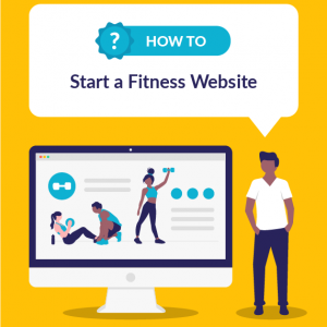 how to start a fitness website featured image