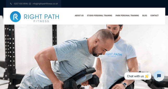 right path fitness example