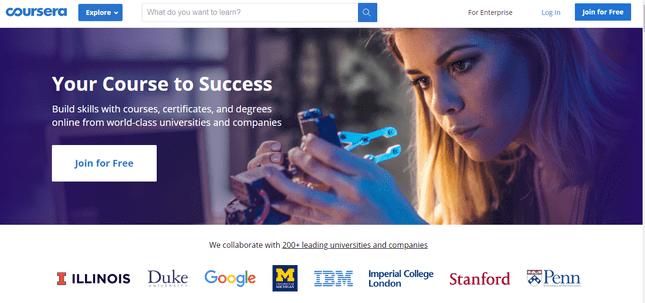 coursera best online coding courses