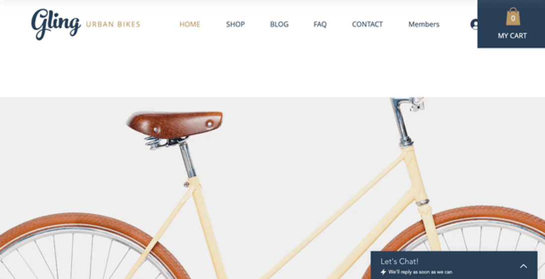 wix ecommerce template