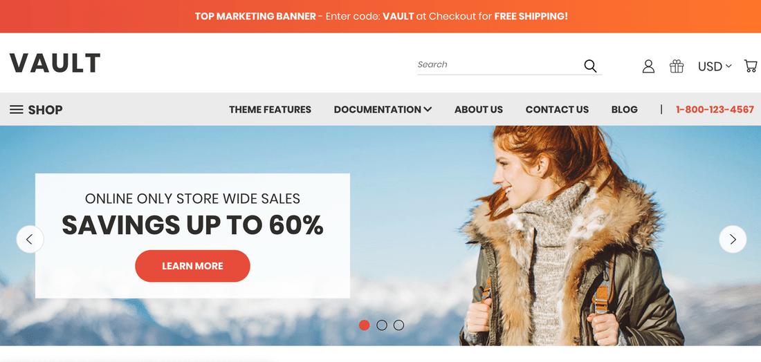 bigcommerce ecommerce template