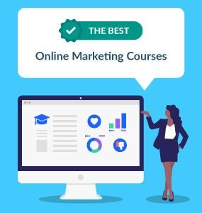 best online marketing courses featured image