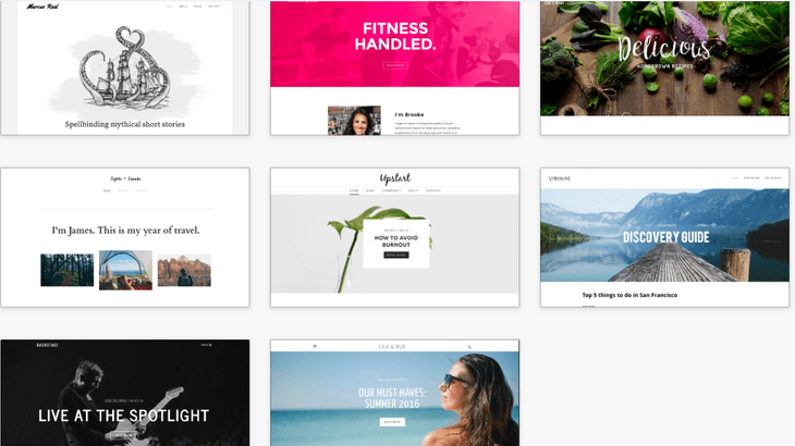 weebly review blog themes