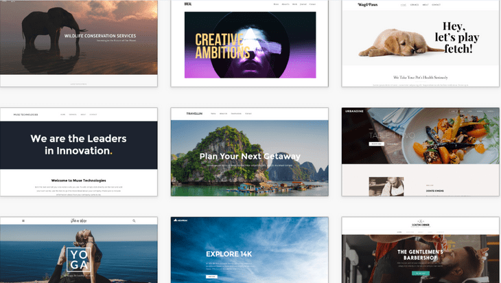 weebly review business themes