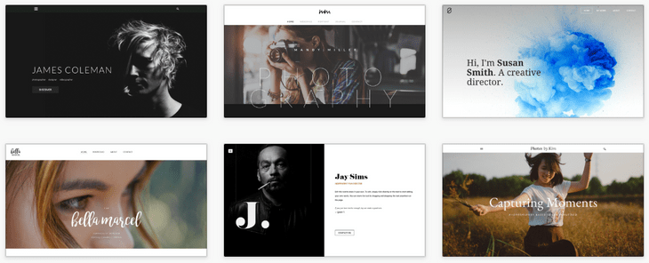 weebly review personal themes
