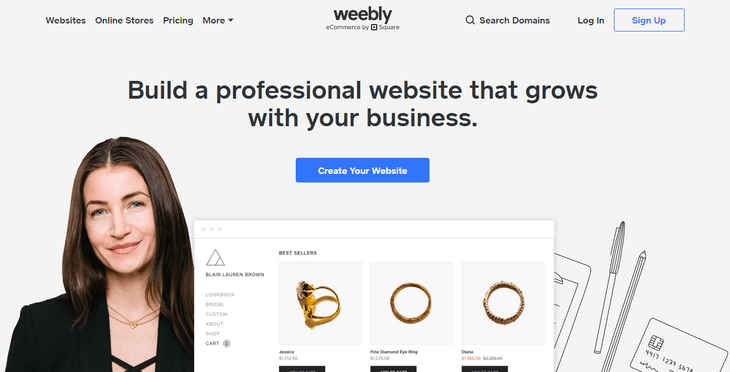 weebly review home
