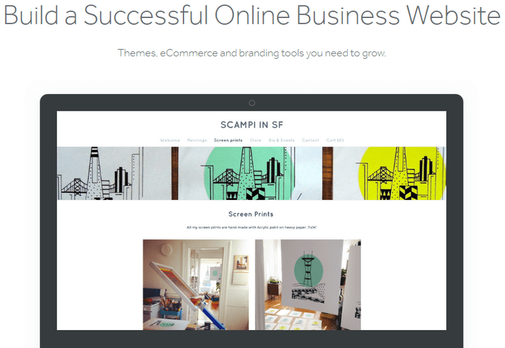 weebly review online business