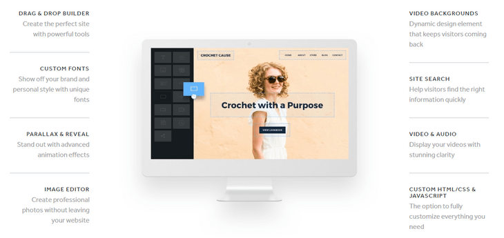 weebly review website builder design featurees