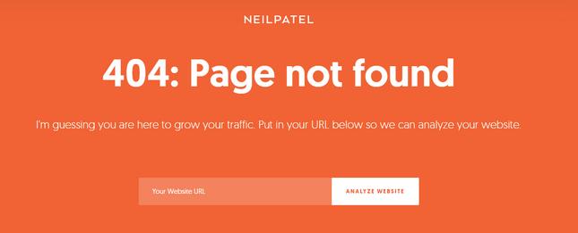 website credibility factors technical errors neil patel 404