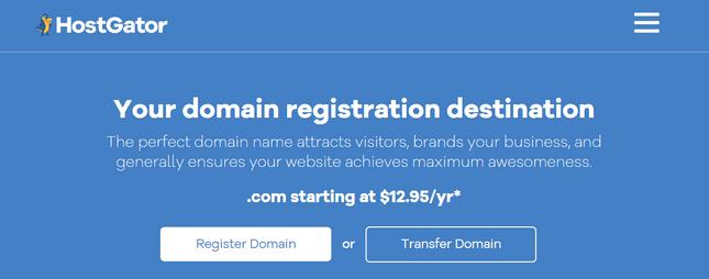 hostgator domains