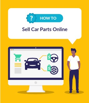 how to sell car parts online