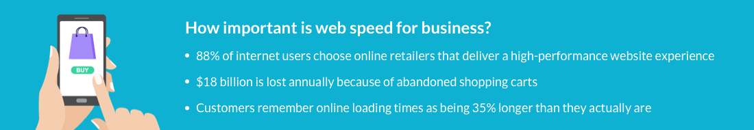 how web speed impacts business