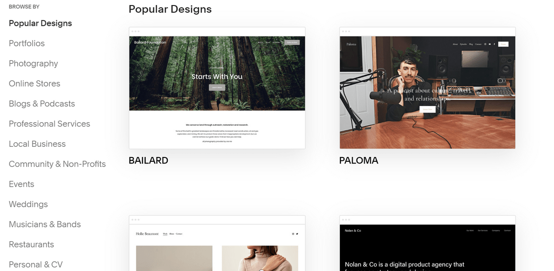 multilingual websites squarespace templates