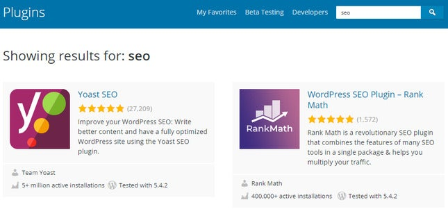 build a business website using wordpress plugins