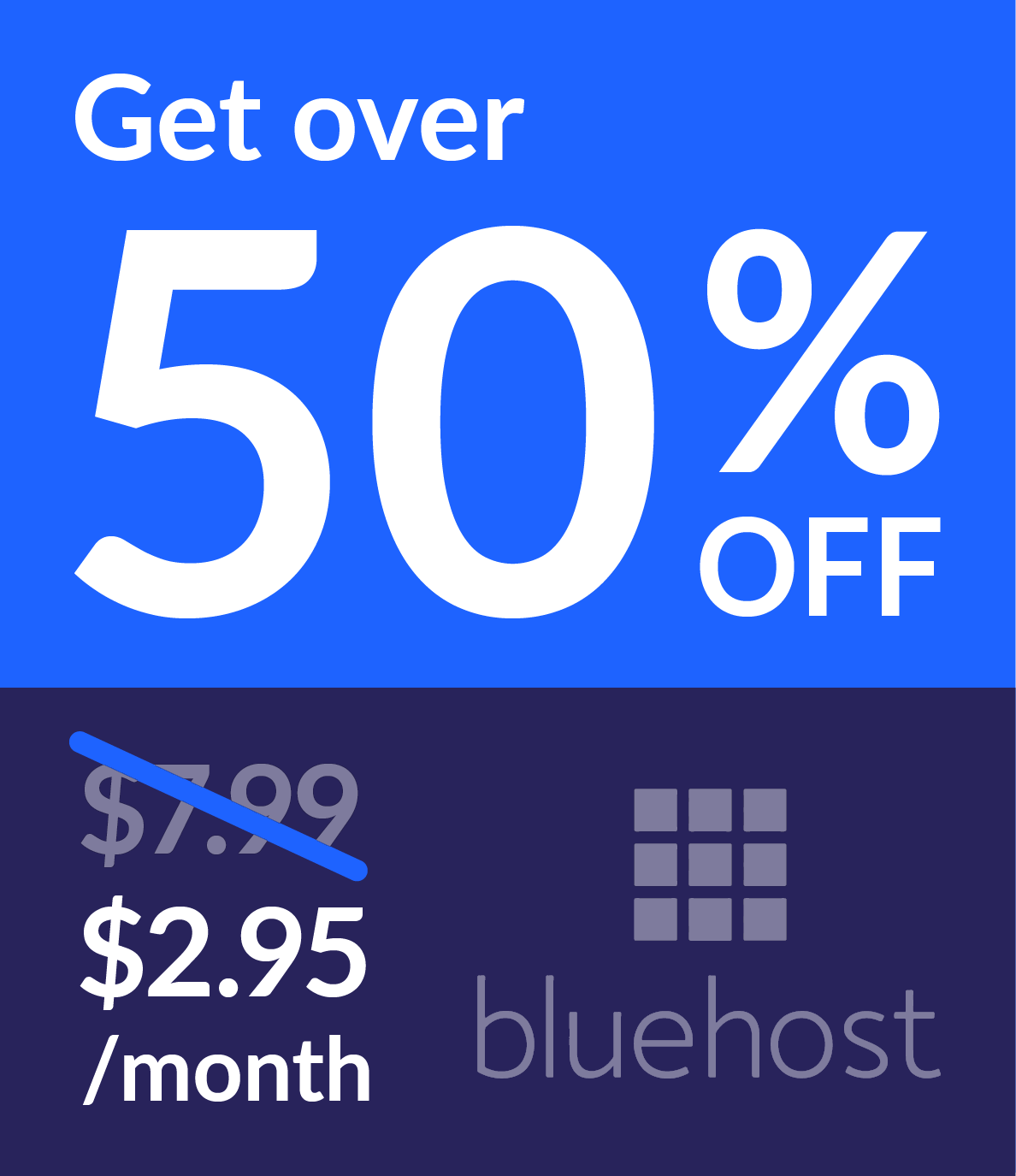 bluehost discount information