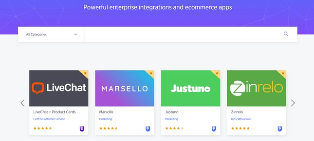 woocommerce vs bigcommerce apps and integrations home