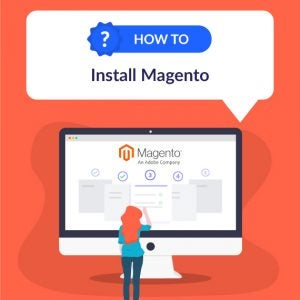 how to install magento