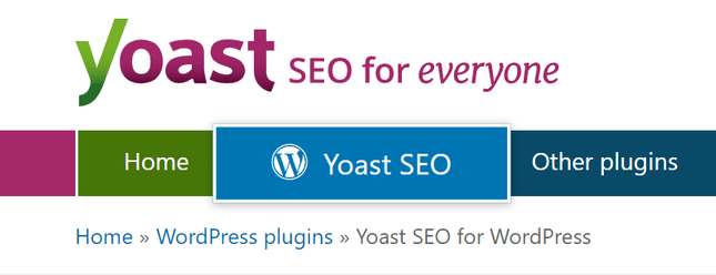 yoast plugin for wordpress