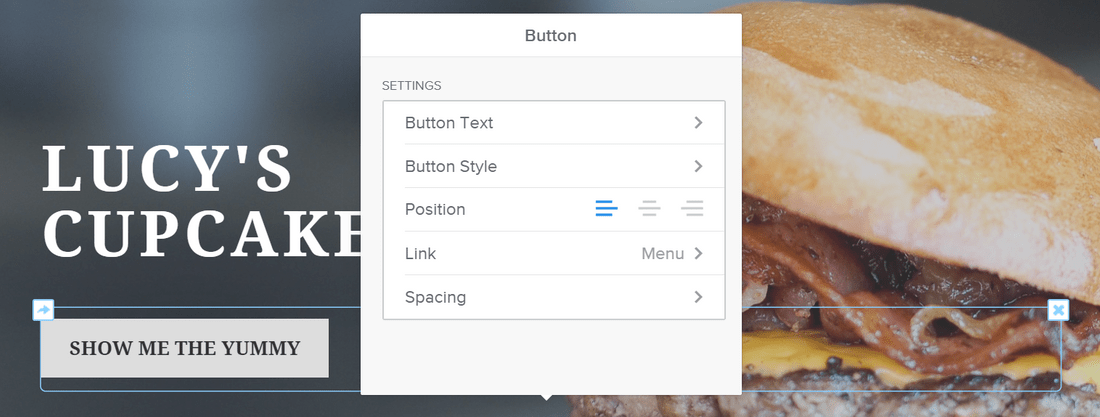 weebly free builder editing buttons