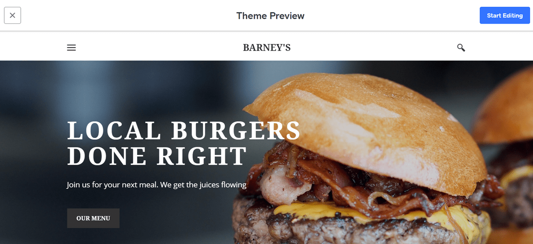 weebly free builder theme preview