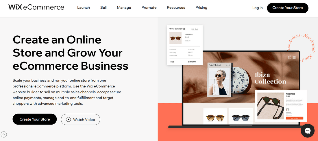 best ecommerce website builders wix ecommerce