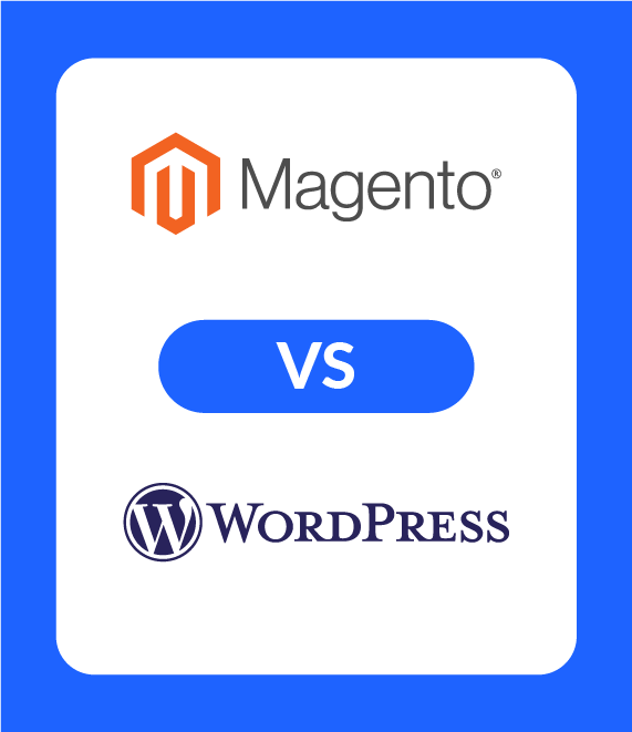 magento vs wordpress featured image