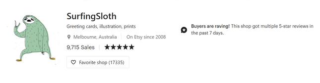 custom etsy store icons