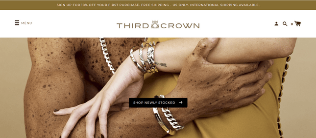 successful online jewelry store third crown