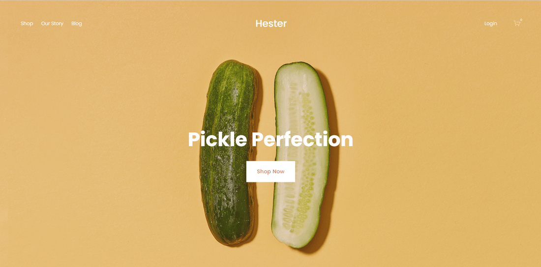 best squarespace template for online stores hester