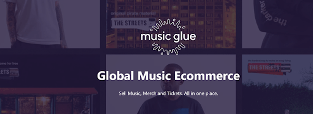 music glue homepage