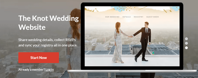 the knot homepage