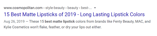 google search results for makeup