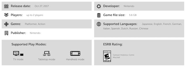 Mario Product Description