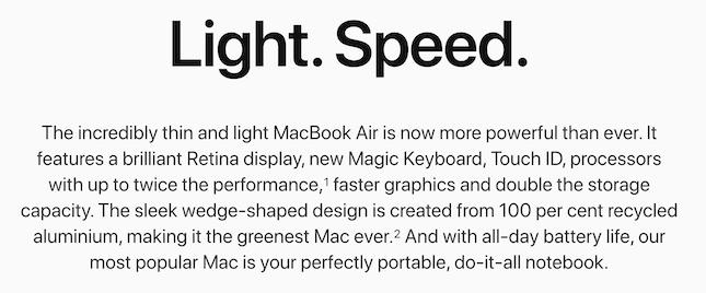 Apple Product Description
