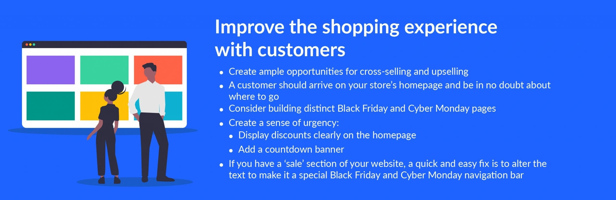 black friday tip improve shopping experience